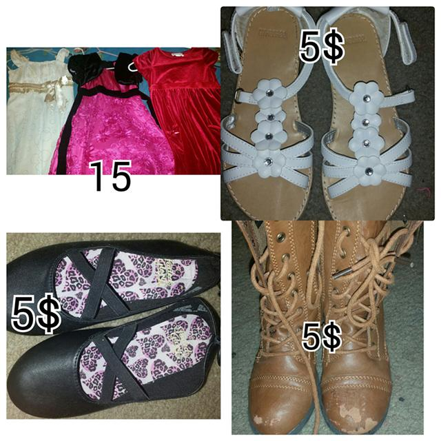 5  childrens clothes