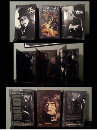 Universal Monsters. 12 Inch Figures. Sideshow Collectibles. OBO - $175 (Harlingen)