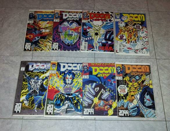 Doom 2099 Comics    Issues 1-8   10 for All 8 Together   -   x0024 10  harlingen