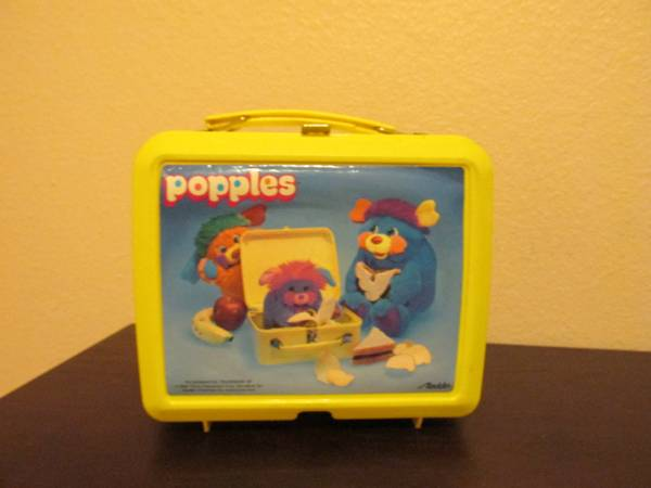 Popples Items- 80s Lunch Box with Thermos -   x0024 50  brownsville