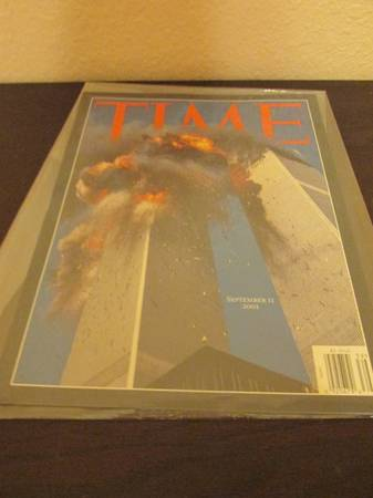 Collectible Magazines- TIME magazine issuing 9 11 event  -   x0024 50  Brownsville