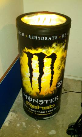 Electric MONSTER energy Cooler - $160 (brownsville)