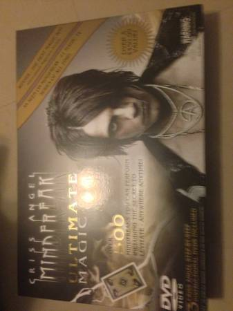 Criss Angel ultimate magic kit - $50 (Brownsville tx)