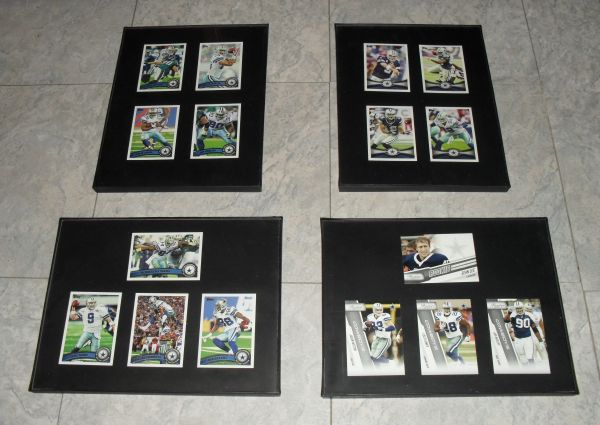 Dallas Cowboys Frames. Very Nice Collectibles.  $7 each or 2 for $10 - $7 (Harlingen)
