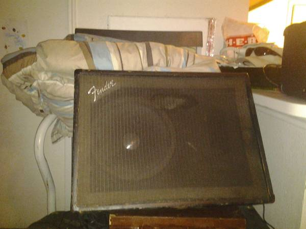 Fender and Tosh Speakers - $335 (Brownsville, Tx)