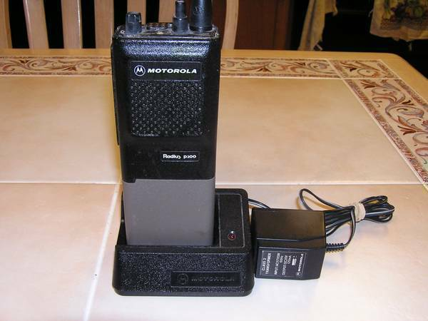 Motorola P200 VHF 6 Channel Repeater Radio - x002445 (BROWNSVILLE)