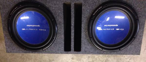 db drive speed series and subs - $1 (brownsville tx)