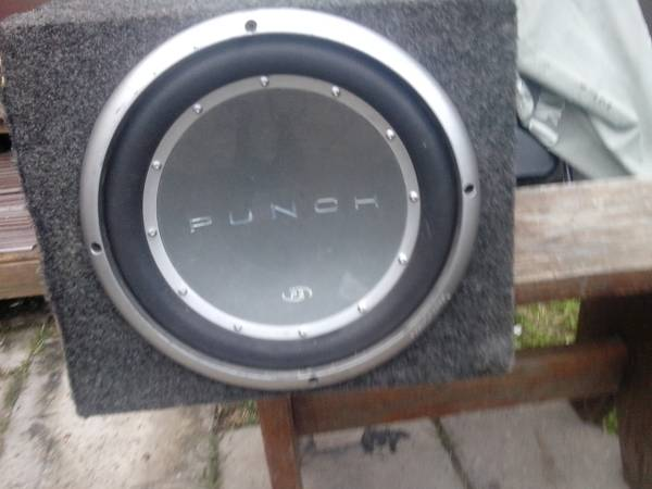 RF punch 12 Sub with Box - $50 (brownsville tx)