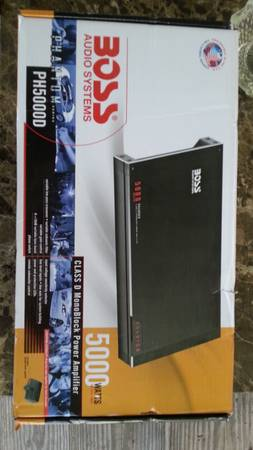 BOSS Audio 5000 watt Monoblock Class D Amp $300 OBO - $300 (Los Fresnos and Surrounding areas)