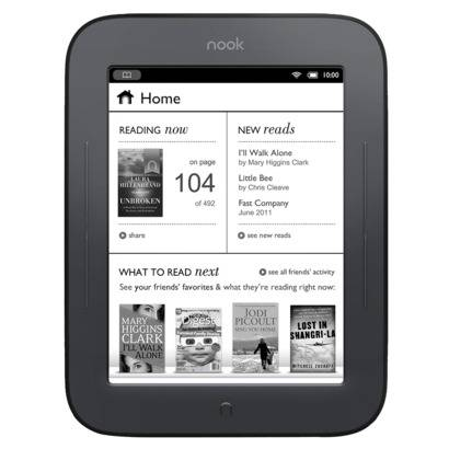 BN Nook Simple Touch - $60 (Brownsville, Texas)