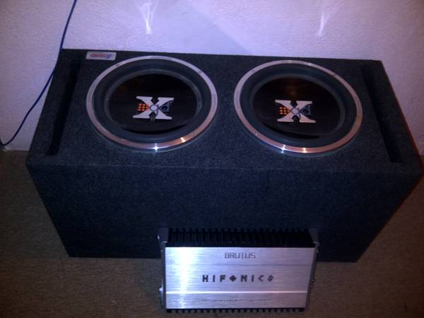 Hifonics brutus subwoofers for sale