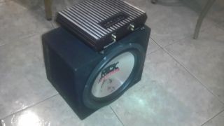 CHEAP PLUG AND PLAY SYSTEM. MTX 12, SUB, AMP SEALED BOX. - $120 (Brownsville)