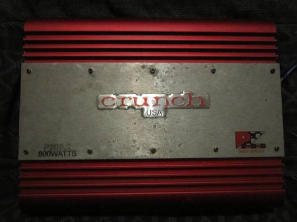 12 inch Memphis audio sub and 800 watt Chrunch - $200 (Santa Rosa)