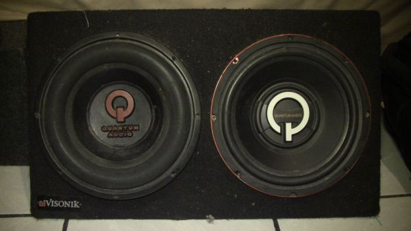 2 10 inch Quantum Subs - $60 (Brownsville)