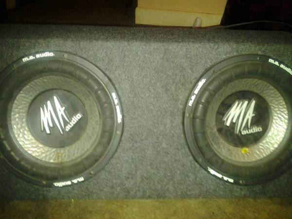 2 10 inch subs Ws and sealed box - $150 (Los Fresnos)