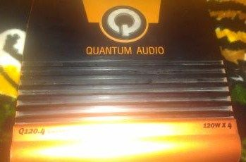 Quantum Audio Amp 4 Channel - $75 (San Benito)