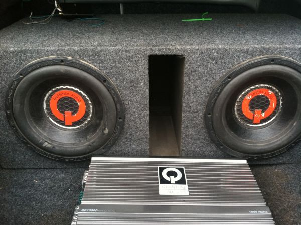 Quantum speakers and - $200 (Brownsville)