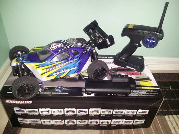 R C NITRO BUGGY 1 10 SCALE -   x0024 140  brownsville