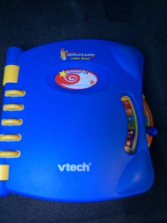 VTECH WRITE AND LEARN LETTER BOOK