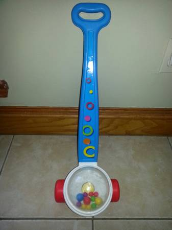 Fisher Price Corn Popper Push Toy -   x0024 10  Brownsville