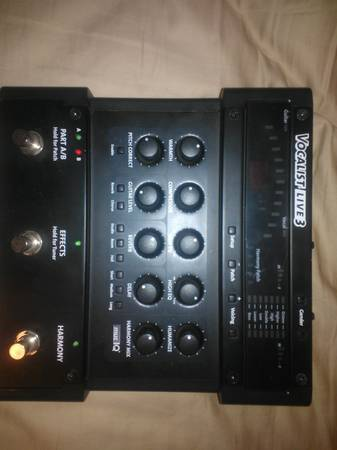 Digitech Vocalist live 3 - $170 (Brownsville)