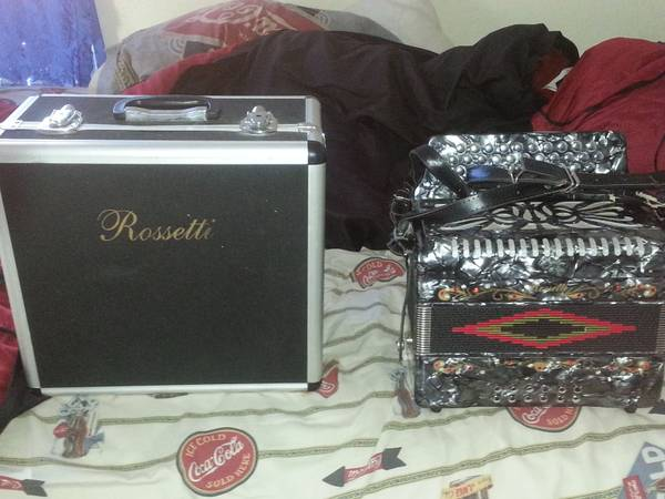 Rosetti Accordion for sale - $300 (brownsville tx)