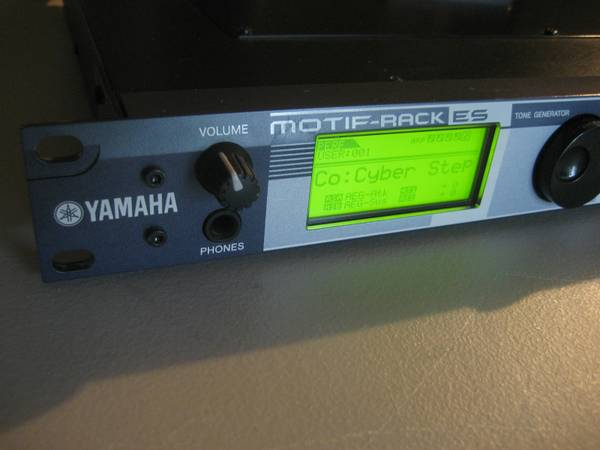 Yamaha Motif Rack O2 USB Keyboard (Brownsville)