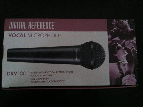 2 digital reference mics o.b.o - $35 (brownsville)