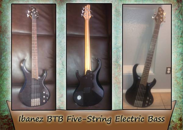 Ibanez BTB Five-String Bass - $325 (Harlingen)