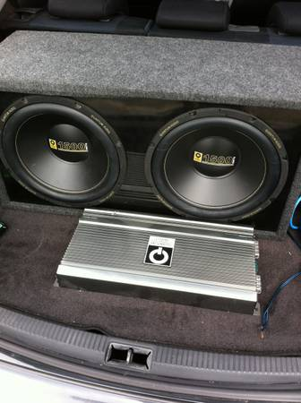 Deal. AMP AND SUBS - $350 (los Fresnos )