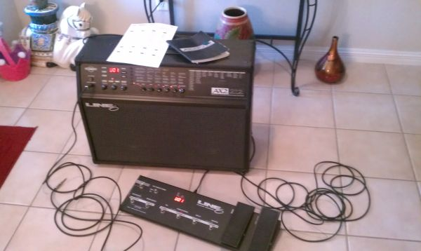 Line 6 AX2 212 Guitar Amplifier - $350 (Brownsville)