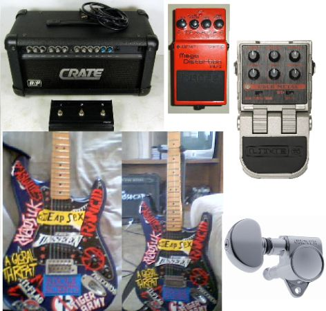 SELLING or TRADING guitar gear - $250 (BrownsvilleMatamoros)