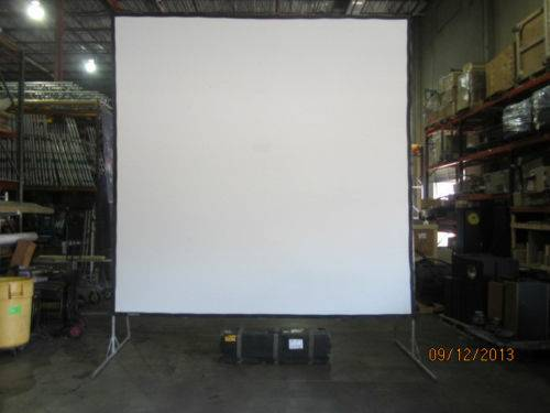 Dalite 10ft x 10ft Projection screen kit -   x0024 450  brownsville tx