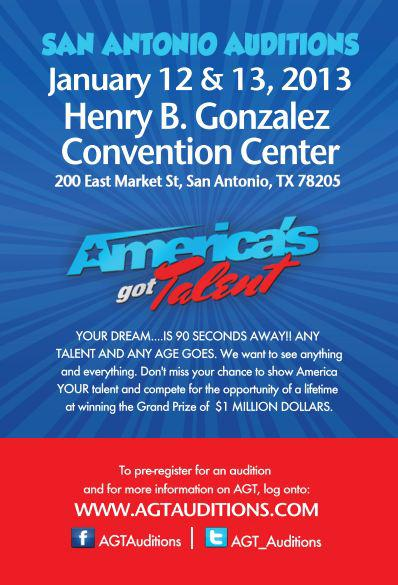 Americas Got Talent- Open Auditions