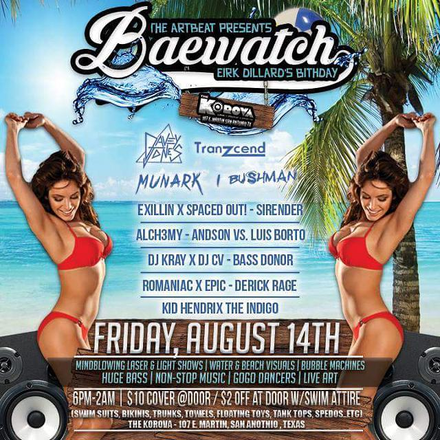 BaeWatch Swimsuit Party The Korova 814