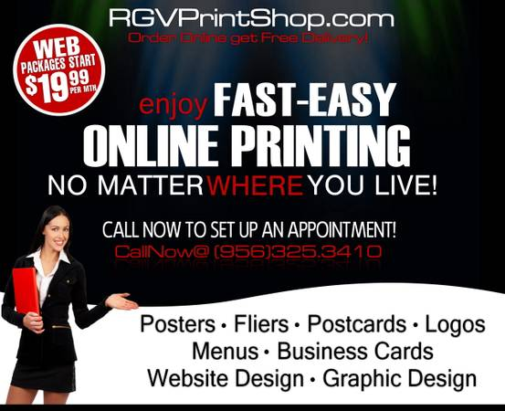 Website Design for ANY Business  McAllen Tx