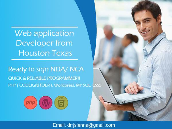 Experienced and Reliable developer  PHP  Python MySQL  HTML5  CSS4 5  Amazon web server  Git
