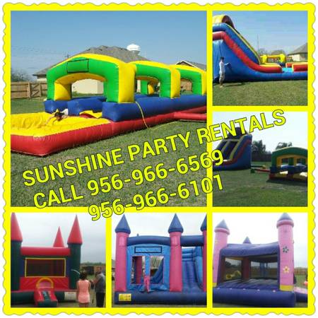 Sunshine party rentals (La feriaHngWillacy)