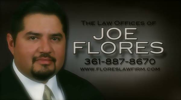 ARRESTED UNDER INVESTIGATION CALL ATTORNEY JOE FLORES (South Texas)