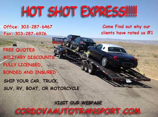 Auto Shipping Nationwide  louisiana