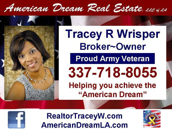 American Dream Real Estate  LLC of LA  Leesville  LA