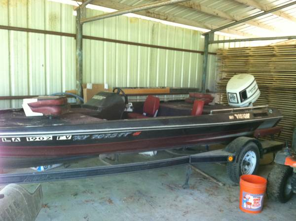 Bass boat for sale -   x0024 3500  Jena  Louisiana