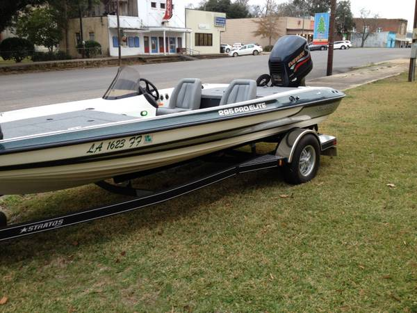 1999 Stratos 295 pro elite  1999 200hp Evinrude -   x0024 11000  Woodworth