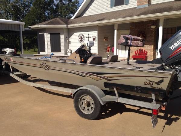 2004 18 5 G3 bass boat with 115 Yamaha  -   x0024 7900