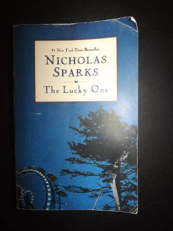 The Lucky One by Nicholas Sparks -   x0024 5  Fort Polk