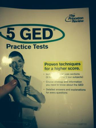 The Princeton Review 5 GED Practice Tests  -   x0024 15  Pineville