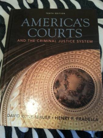 America Courts System  College Book  -   x0024 50  houston