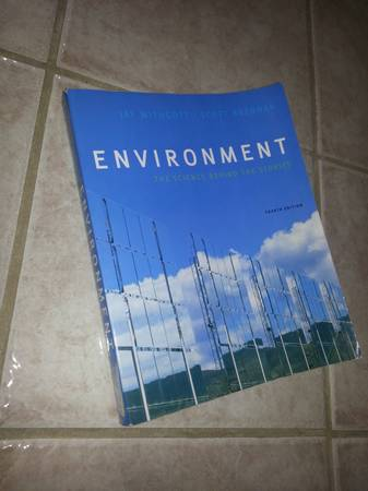 Environment textbook for sale -   x0024 50  Pineville