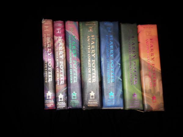 J.K. Rowling Harry Potter Books 1-7 - $102 (Hammond, Louisiana)