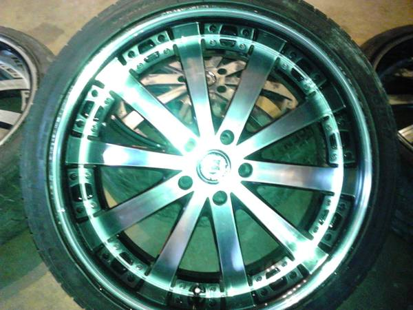 20  rims with tire -   x0024 550  west covina
